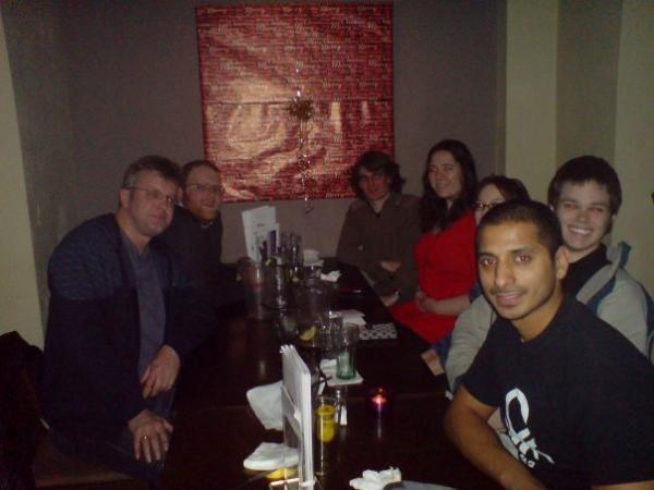 We went down to the Slug & Lettuce on Park Row for our 2007 Winter Solstice meal.