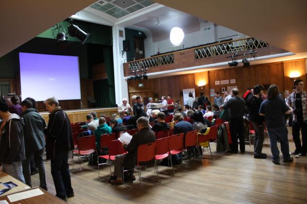 AHS 2011 convention at Conway Hall, London.